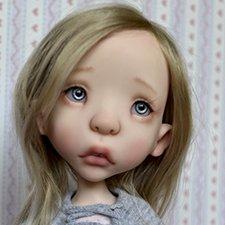 Предзаказ на полиуретановую шарнирную куклу Лилу