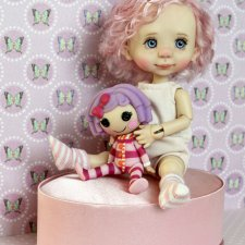 Мои девочки. Авторские куклы Tafidolls