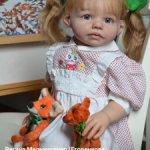 Куколка из молда Шанель