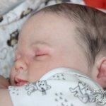 Малышка реборн пухляшка Рози. Молд от Донны Руберт