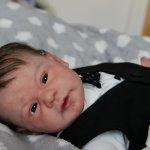 Малыш реборн Медисон - маленький джентельмен