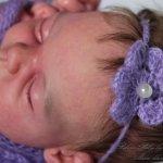 Малышка реборн сплюшка Гретхен из молда скульптора Элизы Маркс
