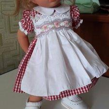 красивое платьице с фартучком