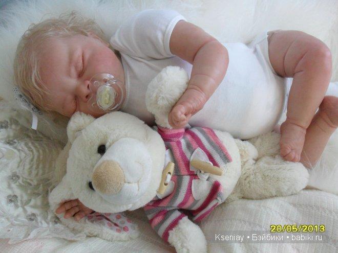 Мой первый малыш реборн... Автор Калуга Оксана