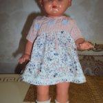 антикварная кукла 1960г