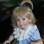 Помогите узнать имя этой чудесной куклы из фарфора от Ann Timmerman