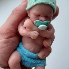 Силиконовый малыш, молд Антонио
