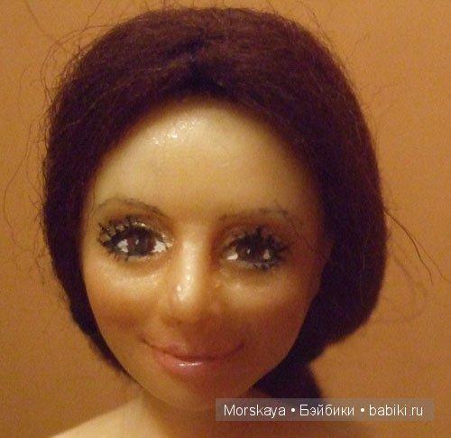 портретная кукла от Morskaya