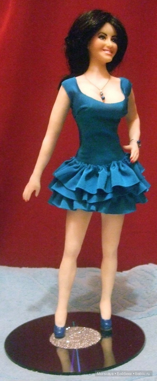 портретная кукла Саша от Morskaya