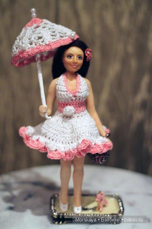 Портретная кукла Лена