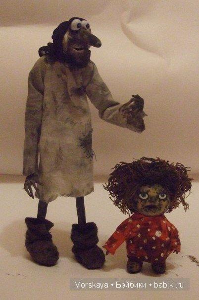 Текстильные куклы своими руками баба яга