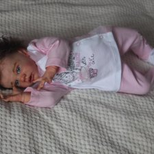 Кукла реборн на базе молда Элла