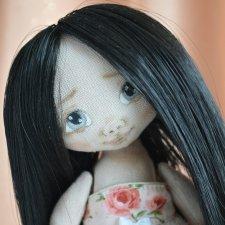 Розочка. Текстильная куколка