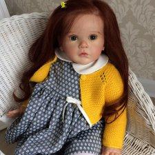 Анна-Мария кукла реборн Натальи Кудрявцевой