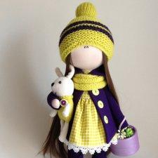 Мои новые текстильные куколки