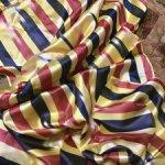 Натуральный шелковый винтажный атлас, шёлк сто процентов