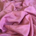 Винтажный отрез искусственного шёлка , цвет « пепельная Роза «.