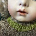 Антикварный французский бисер в связках , мелкий, абсолютно новый