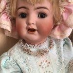 Бисерное авторское колье для кукол