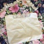 Старинная наволочка на подушечку для бэйбика , 50-е годы , Ссср