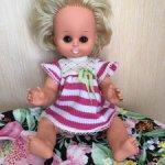 Куколка - пупс Бигги , 30 см , в родном платье