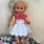 Куколка- пупс Бигги, 30 см , в хорошем состоянии