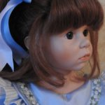 Кукла Jackie  Hildegard Gunzel, 65 см, 1992 год. Продажа срочная! Цена снижена! Доставка в цене!!