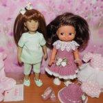 Одежда и туфельки для кукол Kidz'N'Cats minis, 21, Kruselings и кукол ГДР