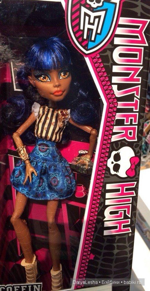 Всё о куклах Monster High - Робекка Стим, Robecca Steam
