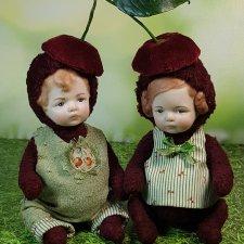 Малыши-вишенки. Совместный проект Катрушовой Татьяны и Селезневой Елены