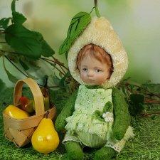Малышка-Грушенька. Совместный проект Катрушовой Татьяны и Селезневой Елены