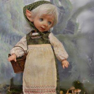 Внучка Кикиморы. Авторская кукла Катрушовой Татьяны