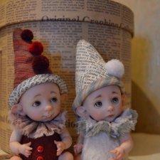 И снова пиксики. Авторские куклы Катрушовой Татьяны