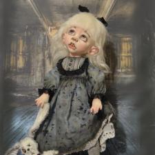 Шесть вампирят.  Авторские куклы Катрушовой Татьяны