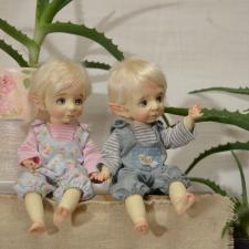 Эльфики. Авторские куклы Катрушовой Татьяны