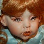Фарфоровая кукла Кассандра от Файзах Спанос