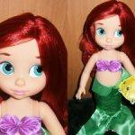 Кукла Ариэль Disney Animators.