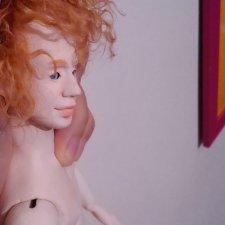 Мужчина. Шарнирная кукла