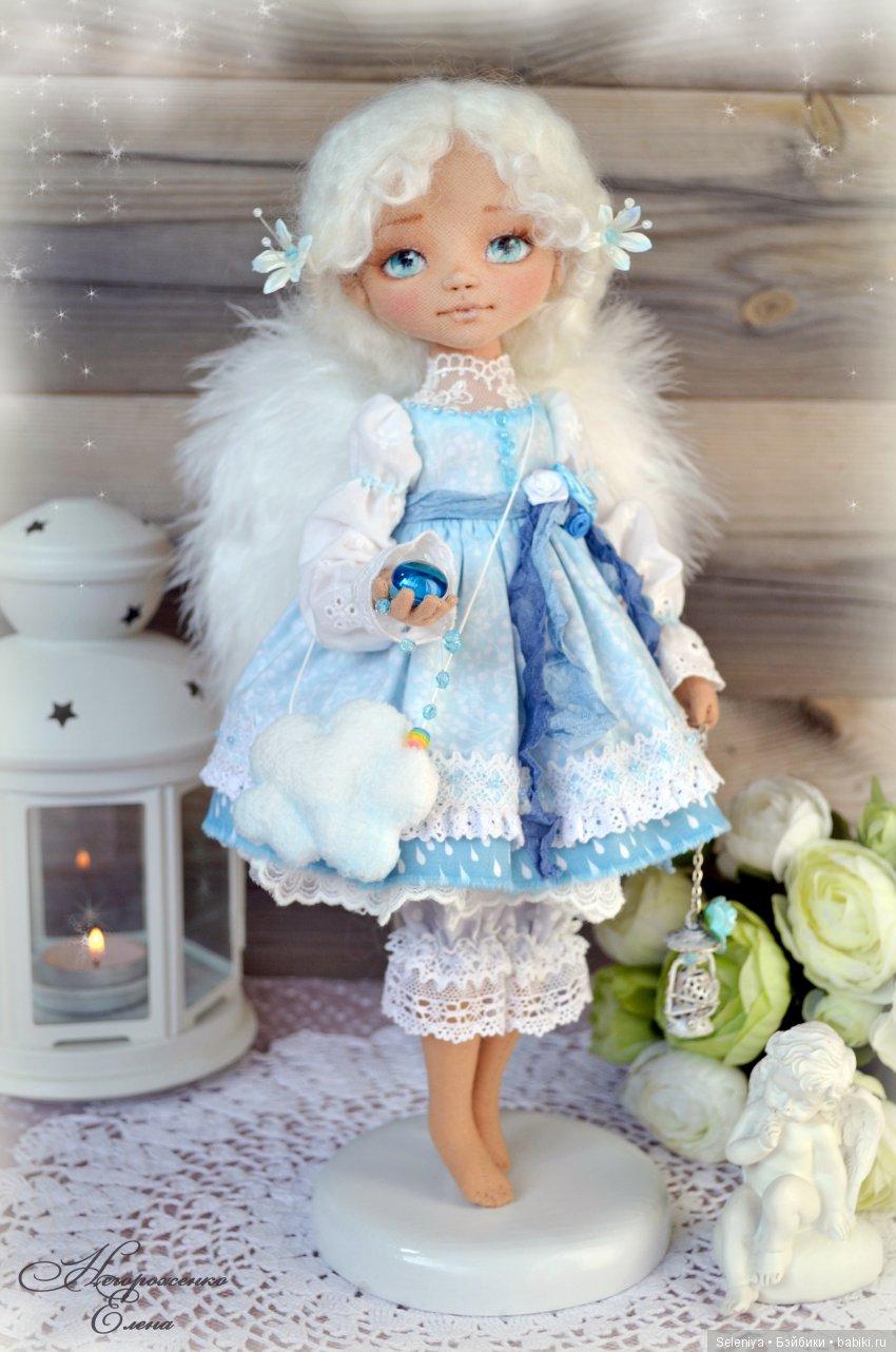 Елена Негороженко, текстильная кукла
