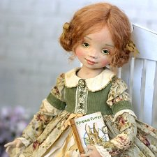 Авторские текстильные куклы Елены Негороженко