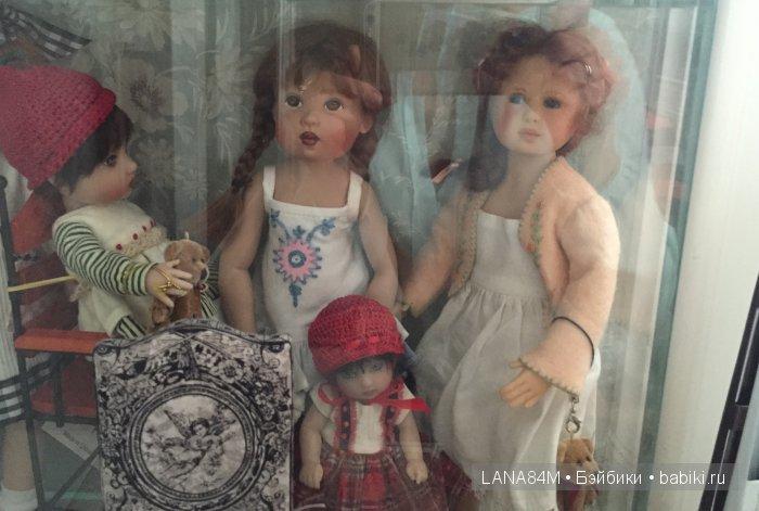 Потрясающая коллекция кукол замечательной актрисы - Антоновой Ольги Сергеевны