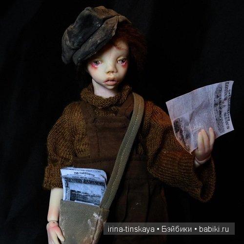 Джек, авторская кукла Ирины Тинской