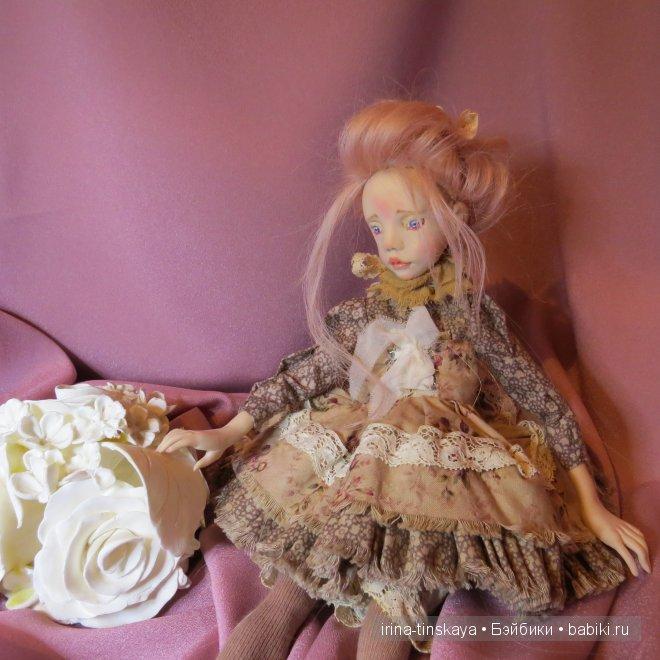 Вивьен, авторская кукла Ирины Тинской