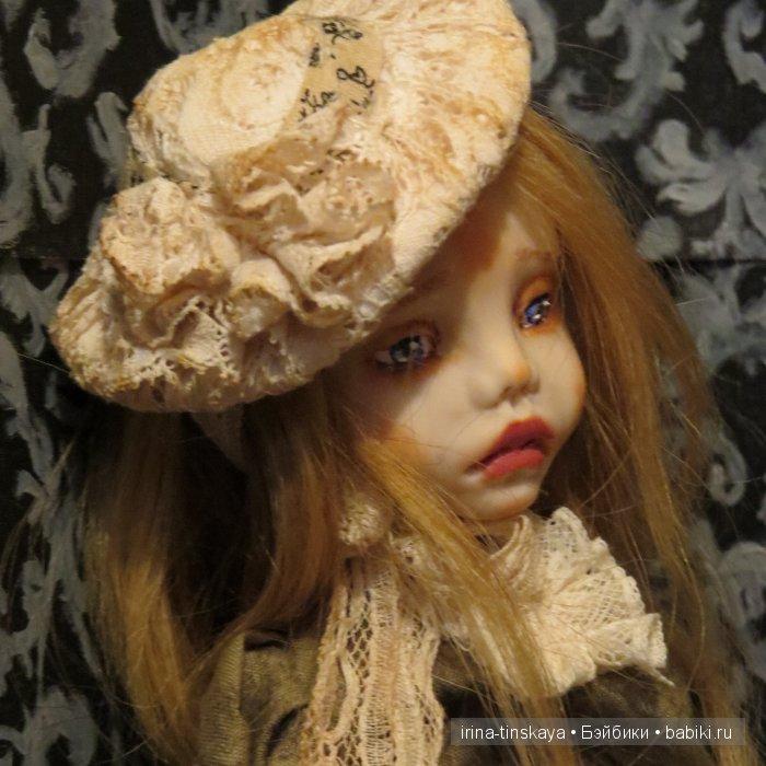 Тифани, авторская кукла Ирины Тинской