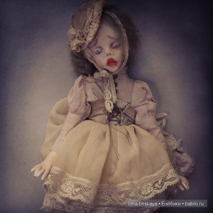 Берта и Тайра, авторские куклы Ирины Тинской