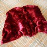 Лот винтажных тканей и меха для рукоделия