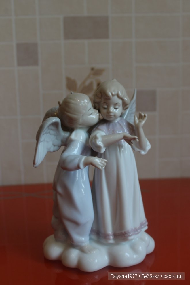 Ангелы и эльфы из фарфора, коллекция