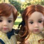 """Новыe 13"""" куклы от Maru & friends twins Ash & Joy - очаровательные близнецы Эш и Джой"""