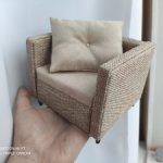 Комплект кресло+банкетка