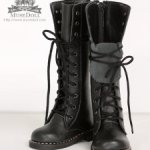 Высокие ботинки для Доллше Дианы и других кукол с ногой около 8 см Цена снижена
